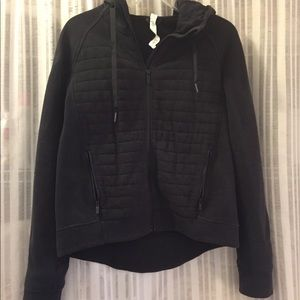 Lululemon quilted front sweatshirt